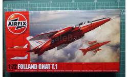 учебный самолет Folland Gnat T.1 1:72 Airfix