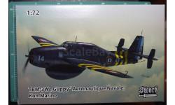палубный самолет ДРЛО TBM-3W Guppy 1:72 Sword, сборные модели авиации, 1/72