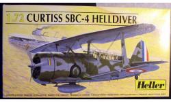 палубный пикировщик SBC-4 Helldiver 1:72 Heller