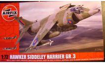 Штурмовик ВВП BAe Harrier GR.Mk3 1:72 Airfix NEW, сборные модели авиации, scale72