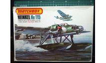гидросамолет Хейнель He-115 1:72 Matchbox, сборные модели авиации, Heinkel, scale72