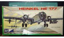 бомбардировщик Хейнкель He 177A Greif 1:72 Airfix/MPC, сборные модели авиации, Heinkel, scale72