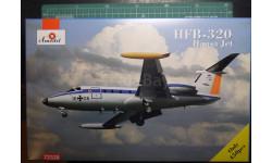 административный самолет HFB-320 Hansa Jet 1:72 Amodel