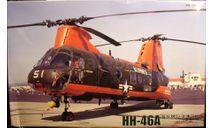 вертолет HH-46A Sea Knight 1:72 Fujimi, сборные модели авиации, scale72
