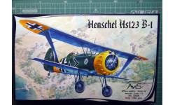 Штурмовик Хеншель Hs-123B 1:72 Avis