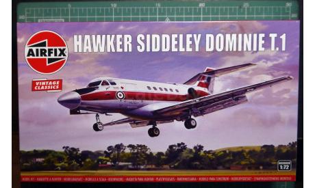 пассажирский самолет HS125 Domini 1:72 Airfix, сборные модели авиации, scale72