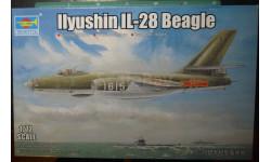 бомбардировщик Ил-28 1:72 Trumpeter
