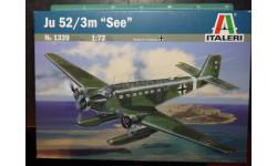 гидросамолет Юнкерс Ju-52/3m 1:72 Italeri