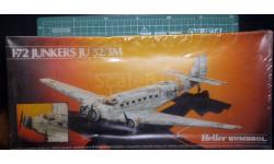 транспортный самолет Юнкерс Ju 52/3M  1:72 Heller