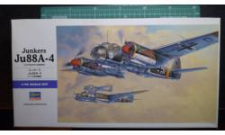 бомбардировщик Юнкерс Ju 88A-4 1:72 Hasegawa