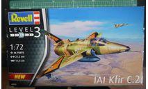 истребитель IAI Kfir C.2/C.7 1:72 Revell/ Italeri, сборные модели авиации, scale72
