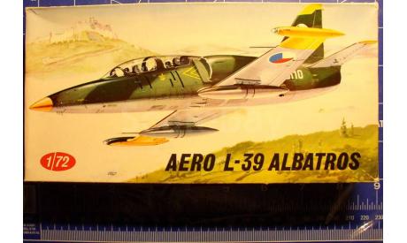 Учебный самолет Aero L-39 Albatros 1:72 KP, сборные модели авиации, scale72