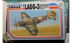 Истребитель ЛаГГ-3  1:72 Emhar (ex-FROG)