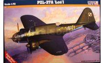 Бомбардировщик PZL-37A Los 1:72  1:72 Mistercraft, сборные модели авиации, scale72