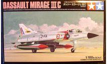 Истребитель Mirage IIIC 1:100 Tamiya, сборные модели авиации, 1/100