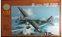 Бомбардировщик Marcel Bloch MB-200 1:72  1:72 Smer, сборные модели авиации, 1/72