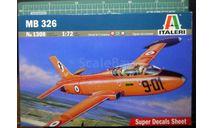 учебно-тренировочный самолет Aermacchi MB.326 1:72 Italeri, сборные модели авиации, scale72