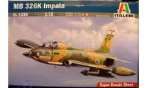 штурмовик Aermacchi MB.326K Impala 1:72 Italeri, сборные модели авиации, scale72