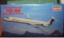 пассажирский самолет  McDonnel Douglas MD-80 1:144 Minicraft, сборные модели авиации, scale144
