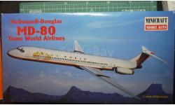 пассажирский самолет  McDonnel Douglas MD-80 1:144 Minicraft