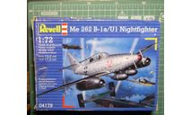 ночной перехватчик Мессершмитт Me-262B1a/U1 Shwalbe  1:72 Revell, сборные модели авиации, scale72, Messerschmitt