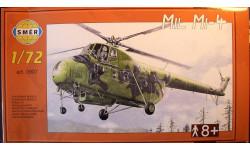 транспортный вертолет Ми-4 1:72 Smer, сборные модели авиации, 1/72