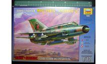 истребитель МиГ-21бис 1:72 'ЗВЕЗДА', сборные модели авиации, scale72