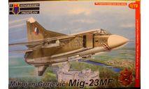 истребитель  МиГ-23МФ 1:72  KP, сборные модели авиации, Kovozavody Prostejov, scale72
