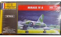 Стратегический бомбардировщик Mirage 4A 1:72 Heller, сборные модели авиации, 1/72