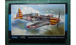 истребитель Morane Saulnier MS.406C1 1:72 Azur