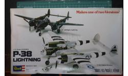 истребитель Lightning P-38J /P-38M Night Lightning 1:72 Revell