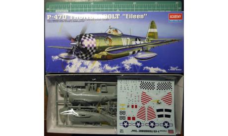 истребитель P-47D Thunderbolt 1:72 Academy, сборные модели авиации, scale72