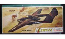 Ночной перехватчик P-61 Black Widow  1:72 Airfix Craftmaster, сборные модели авиации, scale72