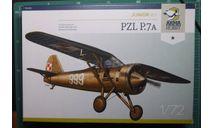 Истребитель PZL P-7a  1:72 Arma Hobby (junior set), сборные модели авиации, ArmaHobby, scale72