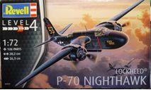 Ночной перехватчик Douglas P-70  Nighthawk 1:72 Revell, сборные модели авиации, scale72