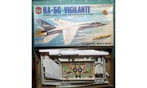 Палубный разведчик RA-5C Vigilante 1:72 Airfix, сборные модели авиации, scale72