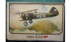нстребитель Letov S-231 1:72 KP