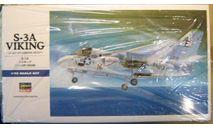противолодочный самолет S-3A Viking 1:72 Hasegawa, сборные модели авиации, 1/72