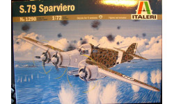 бомбардировщик S.79 Sparviero 1:72 Italeri, сборные модели авиации, 1/72