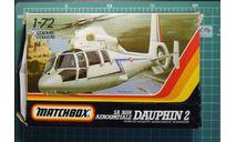 вертолет Aerospatiale SA.365N  Dauphin 2 1:72 Matchbox, сборные модели авиации, scale72