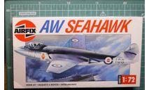 Палубный истребитель AW  Sea Hawk 1:72 Airfix, сборные модели авиации, Bristol, scale72