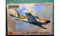 учебно-боевой самолет  SIAI SF-260W Warrior 'Над Африкой' 1:72  KP, сборные модели авиации, scale72
