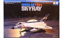 палубный истребитель Douglas F4D-1 Skyray 1:72 Tamiya, сборные модели авиации, scale72