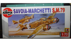 бомбардировщик SM.79 Sparviero 1:72 Airfix, сборные модели авиации, Sword, 1/72