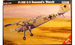 Fiesler Fi 156C-3 Storch 1:72 Mistercraft / Heller
