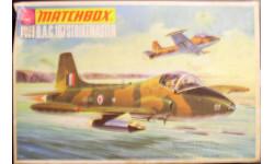 Легкий штурмовик BAC 167 Strikemaster  1:72 Matchbox, сборные модели авиации, 1/72