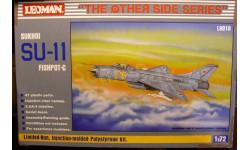 перехватчик Су-11 1:72 Leoman, сборные модели авиации, 1/72