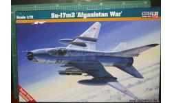 истребитель-бомбардировщик Су-17М3 'Afganistan war'  1:72  Mistercraft, сборные модели авиации, 1/72
