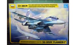 многоцелевой истребитель Су-30СМ 1:72 =ЗВЕЗДА=