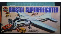 транспортный самолет  Bristol 170 Superfraighter Mk32  1:72 Airfix, сборные модели авиации, scale72
